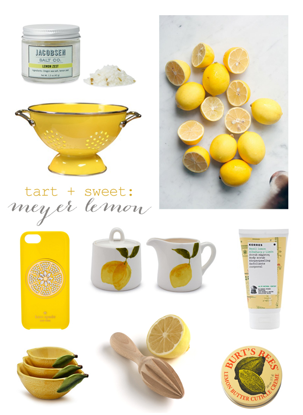 Meyer lemon inspiration