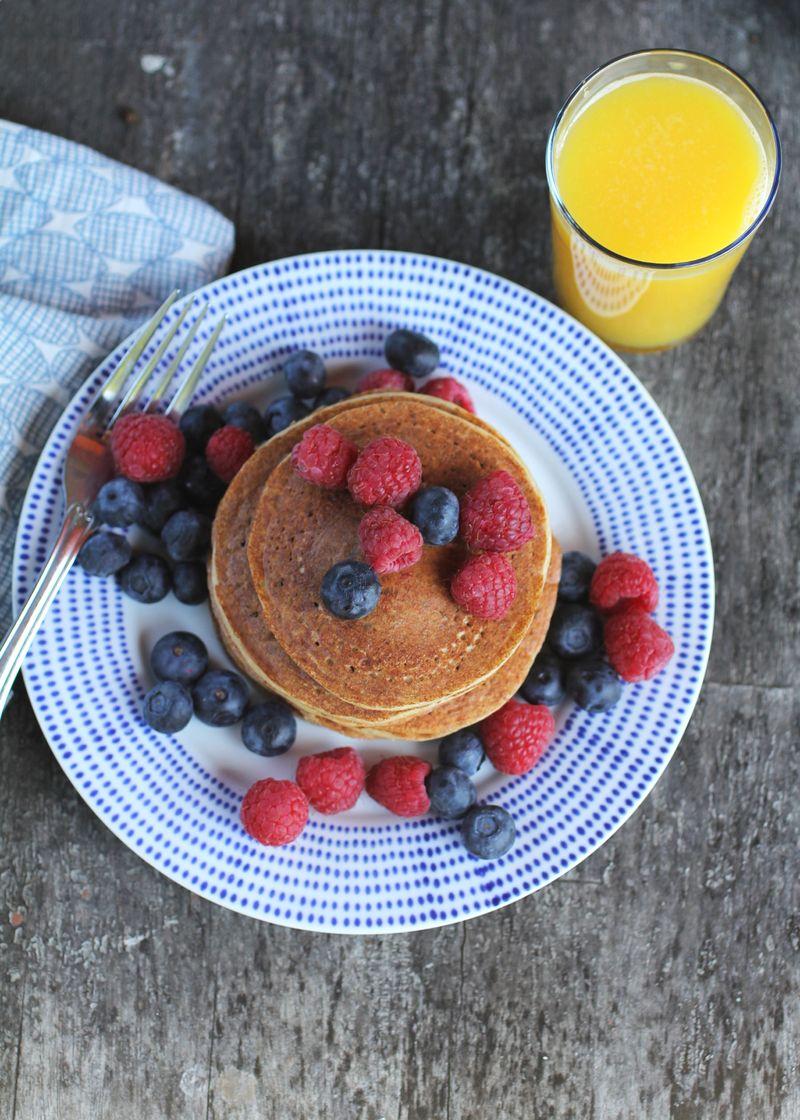 Gluten free-protein pancakes