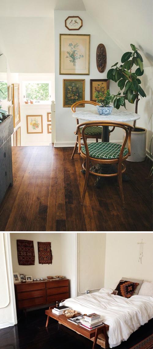 Earthy interiors