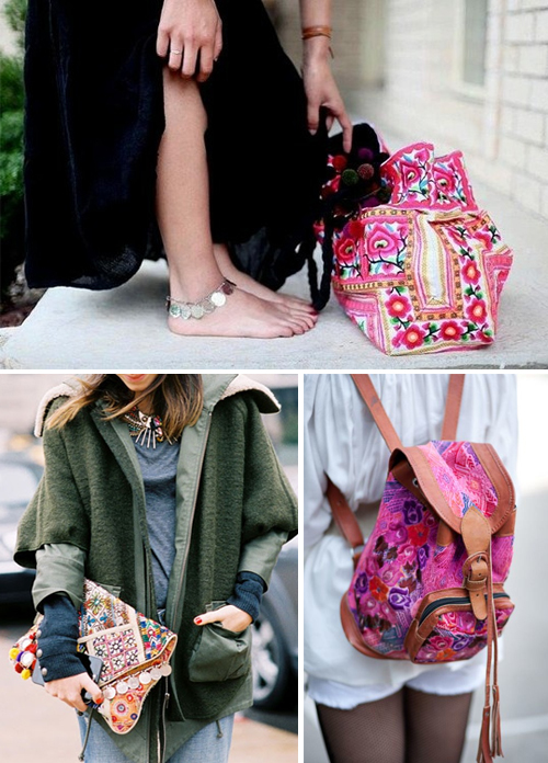 Ethnic bags inspiration