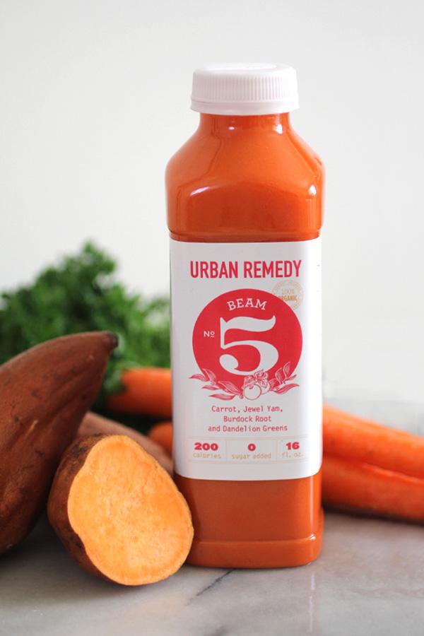 Carrot detox juice