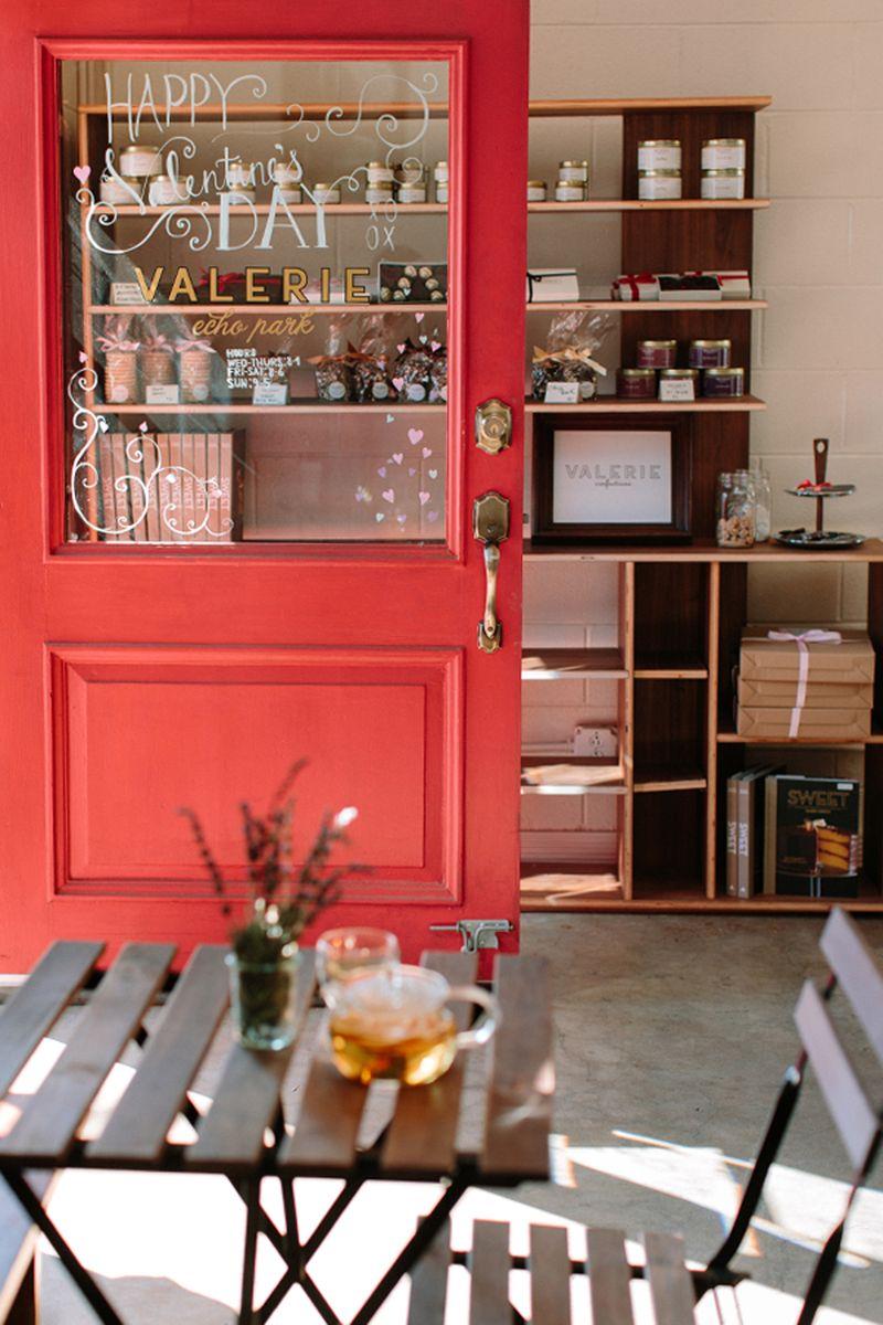Rustic bakery decor