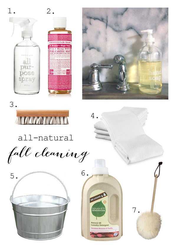 All-natural fall cleaning