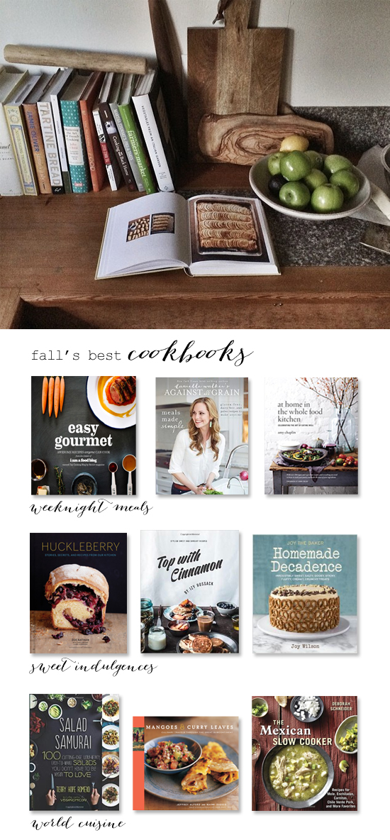 Fall's best cookbooks