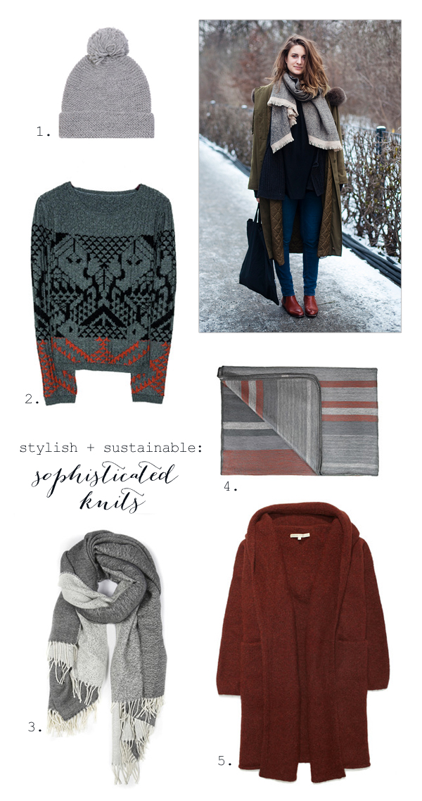 Cozy winter knits