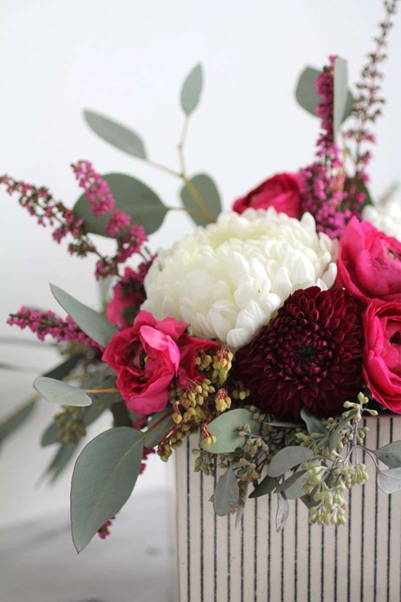 Romantic flower arrangement ideas