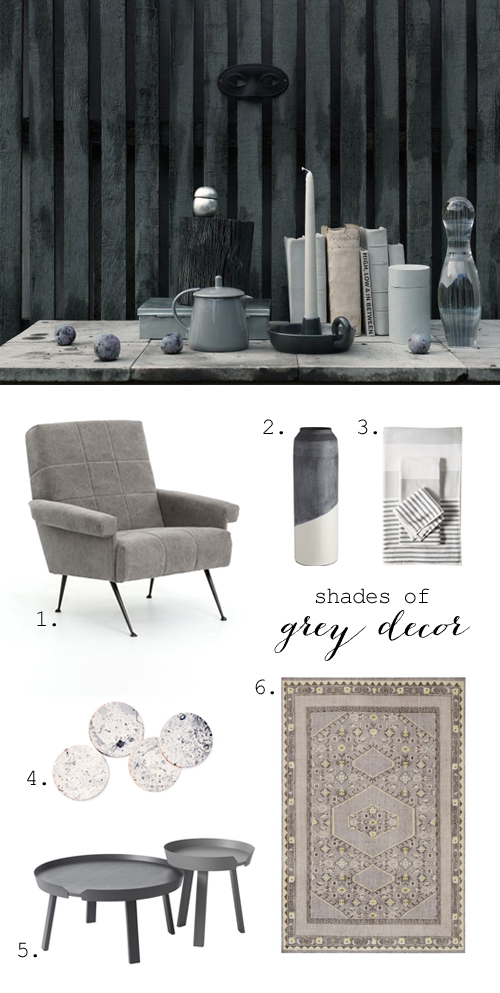Grey decor inspiration
