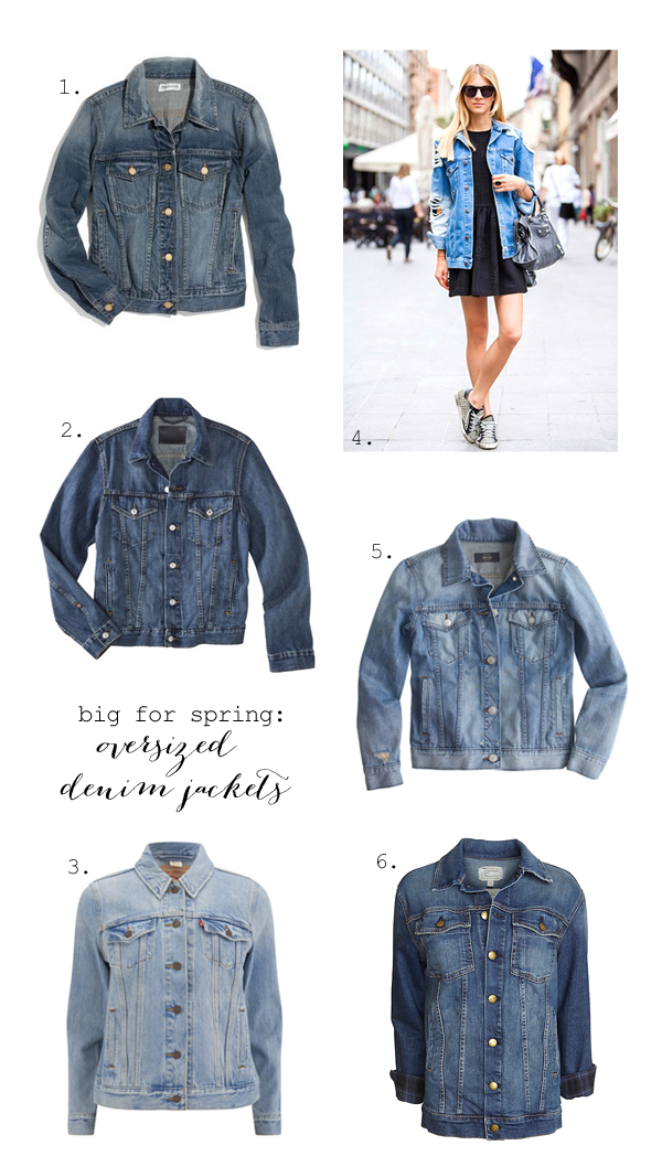 Best denim jackets for spring