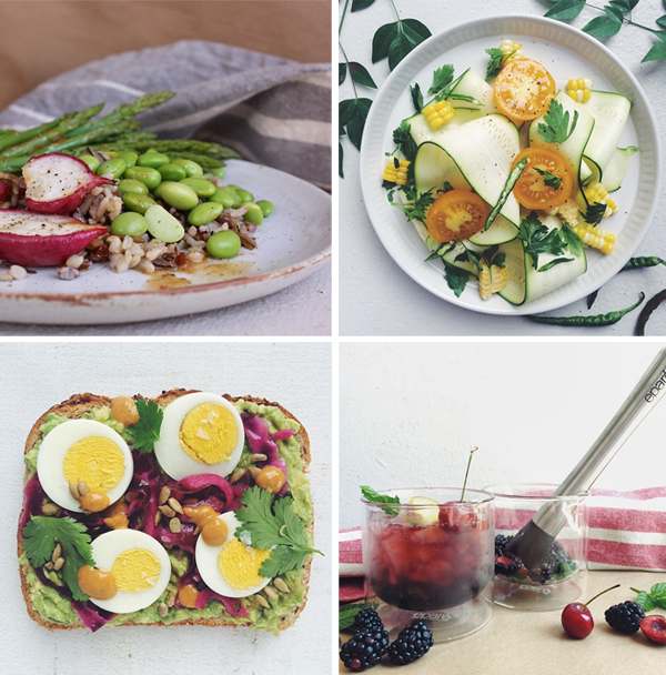 Summer cooking instagram inspiration