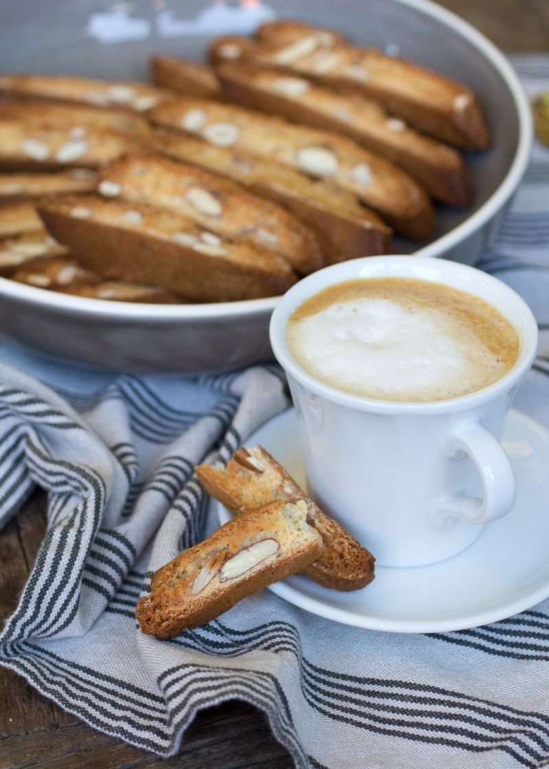 Traditional Italian Biscotti with Honey - Anne Sage