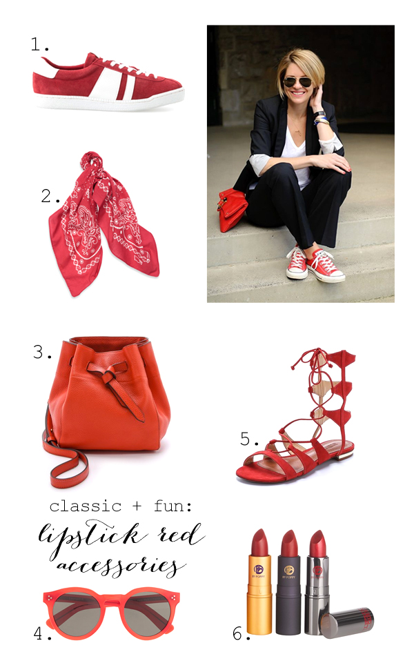 Best red accessories
