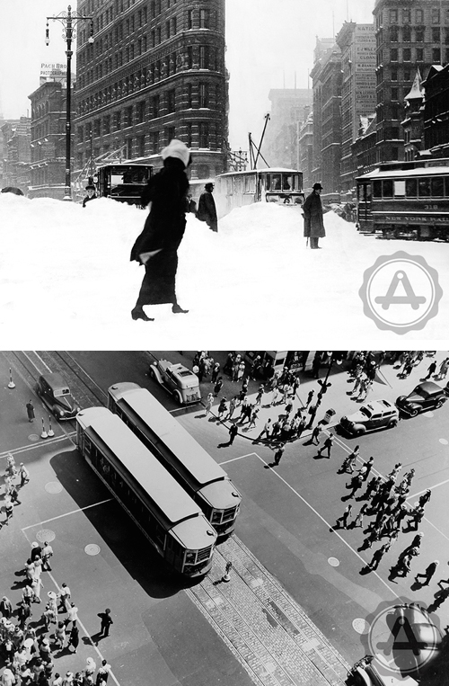 NYC in black + white