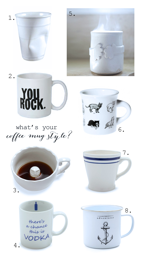 What's your coffee mug say about you?