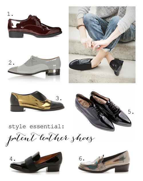 Best patent leather shoes