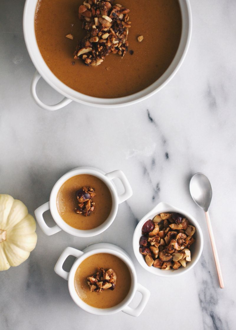 Pumpkin spice custard recipe