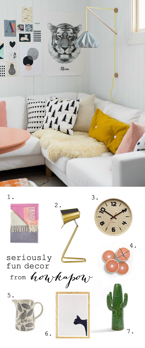 Have fun with decor!