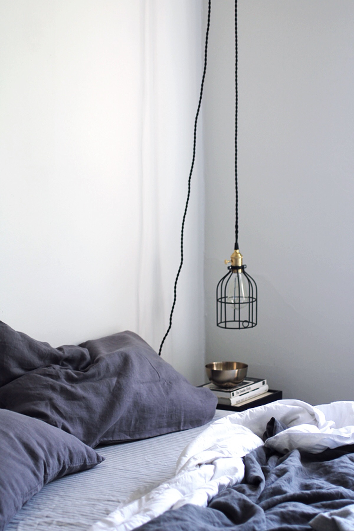 Diy hanging pendant light from color cord company anne sage diy hanging pendant lamp aloadofball Choice Image
