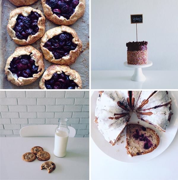 Gluten free baking on instagram