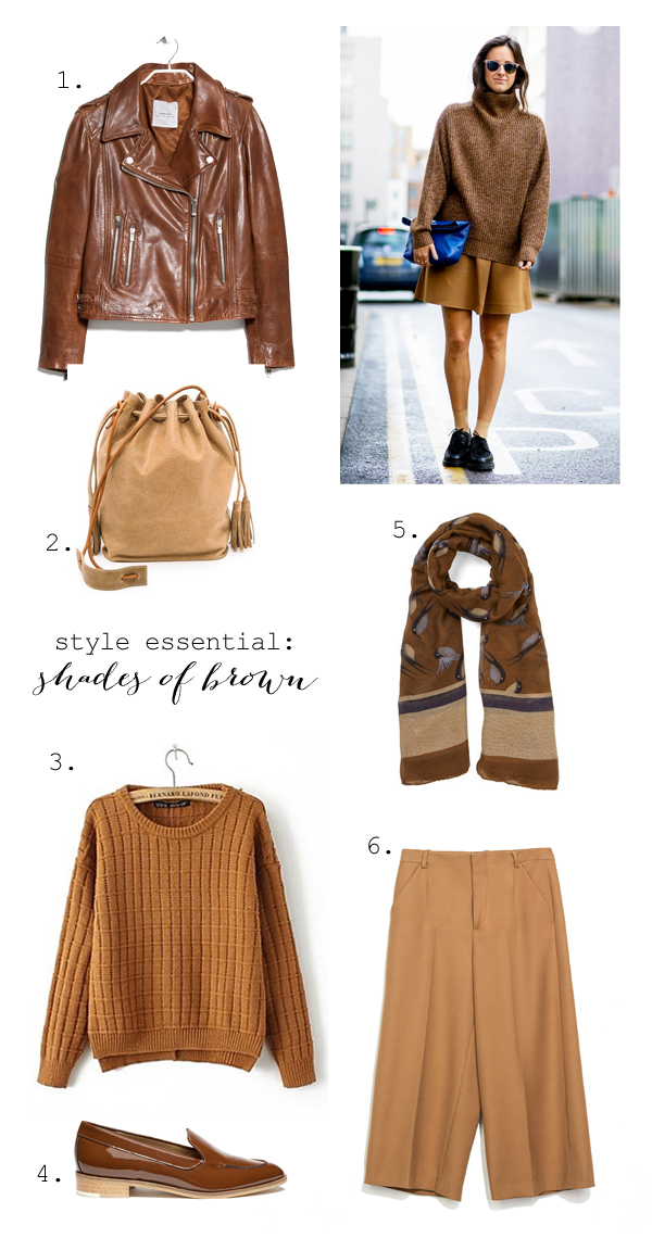 Best of brown for spring