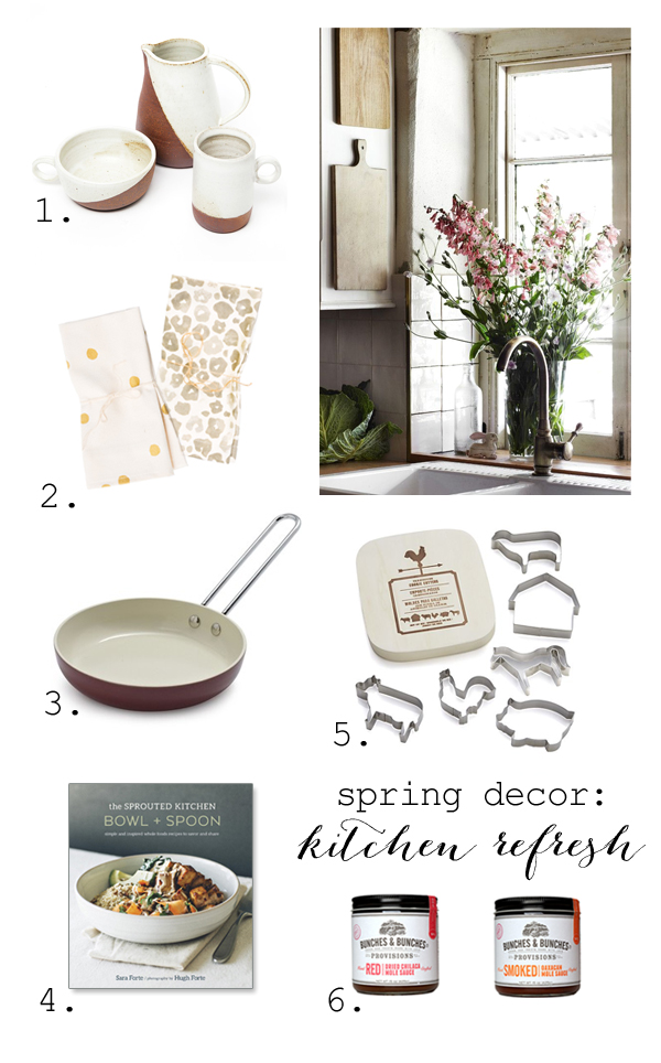 Spring kitchen decor
