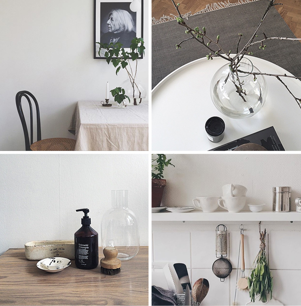 Interior design inspiration on instagram